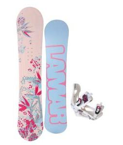 Lamar Merlot Snowboard w/ LTD LT250 Bindings