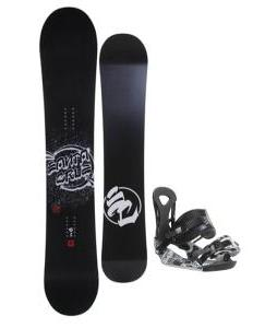 Santa Cruz All Star Vato Dato Snowboard w/ Ride LX Bindings