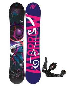Morrow Seneca Snowboard w/ Burton Escapade Bindings