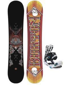 Burton TWC Smalls Snowboard w/ Burton Mission Smalls Bindings