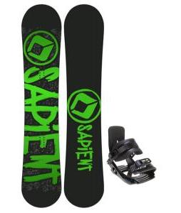 Sapient Yeti Snowboard w/ Salomon Team Bindings