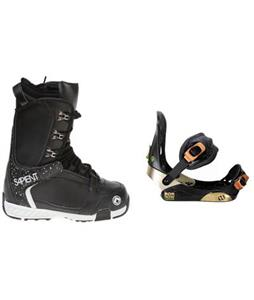 Morrow Invasion Snowboard Bindings w/ Sapient Yeti Snowboard Boots