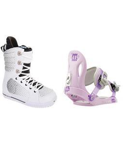 Burton Tryst Snowboard Boots w/ Morrow Slider Bindings