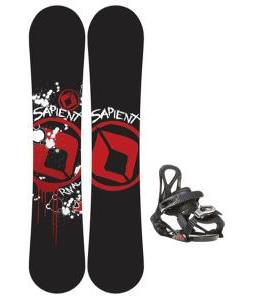 Sapient Rival Snowboard w/ Sapient Prodigy Bindings