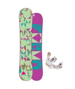 Forum Craft Snowboard w/ Burton Escapade Bindings