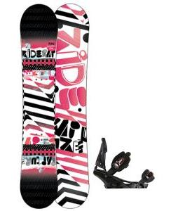 Ride Rapture Snowboard w/ Burton Escapade Bindings