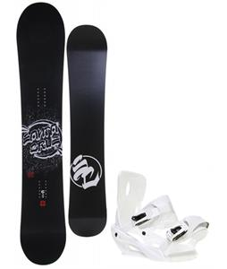 Santa Cruz All Star Vato Dato Snowboard w/ Sapient Zeus Bindings