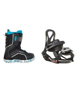 Sapient Prodigy Snowboard Bindings w/ Burton Zipline Snowboard Boots