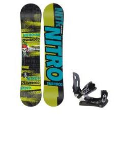 Nitro Ripper Snowboard w/ Lamar MX30 Bindings