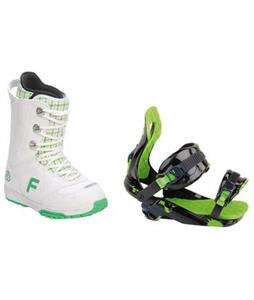 Forum Destroyer Snowboard Boots w/ Rossignol Justice Bindings