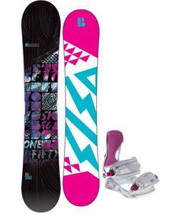 5150 Sienna Snowboard w/ Avalanche Serenity Bindings
