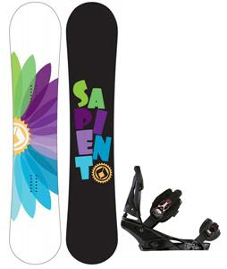 Sapient Color Wheel Snowboard w/ Burton Escapade Bindings
