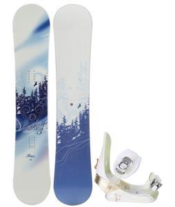M3 Free Snowboard w/ Morrow Lotus Snowboard Binding