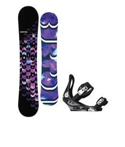 Burton Feelgood ICS Snowboard w/ Burton Citizen Bindings