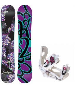 K2 Lunatique Snowboard w/ LTD LT250 Bindings