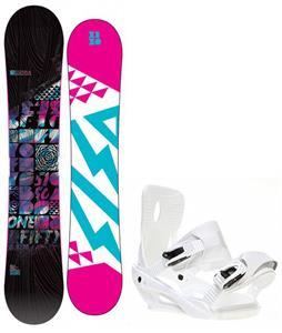5150 Sienna Snowboard w/ Sapient Zeta Bindings