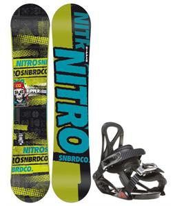 Nitro Ripper Snowboard w/ Sapient Prodigy Bindings