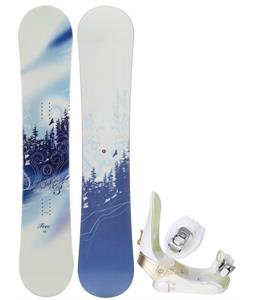 M3 Free Snowboard w/ Morrow Lotus Bindings