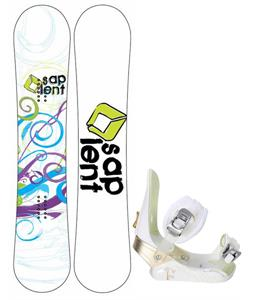 Sapient Spiral Snowboard w/ Morrow Lotus Bindings