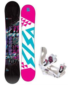 5150 Sienna Snowboard w/ LTD LT250 Bindings