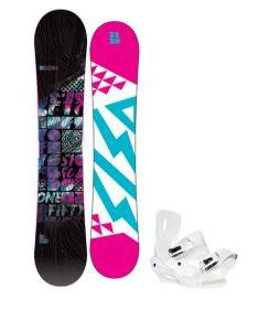 5150 Sienna Snowboard w/ Sapient Zeta Snowboard Binding