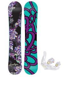 K2 Lunatique Snowboard w/ Burton Lexa Bindings