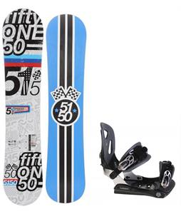5150 Shooter Snowboard w/ Lamar MX30 Bindings