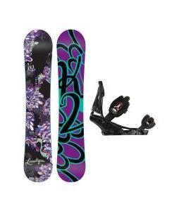 K2 Lunatique Snowboard w/ Burton Escapade Bindings