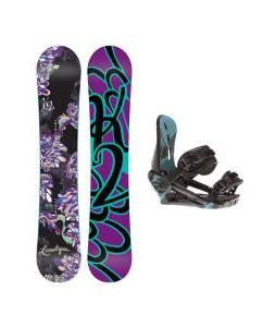 K2 Lunatique Snowboard w/ Morrow Sky Bindings