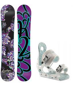 K2 Lunatique Snowboard w/ Ride LXH Bindings