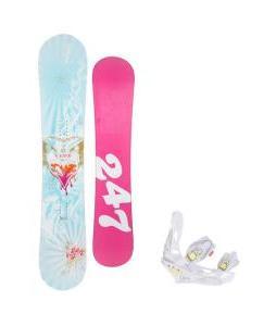 24/7 Fawn Snowboard w/ Burton Lexa Bindings