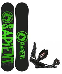 Sapient Yeti Snowboard w/ Burton Escapade Bindings