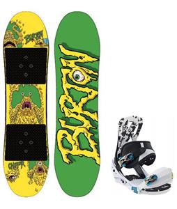 Burton Chopper Snowboard w/ Burton Mission Smalls Bindings