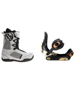 Morrow Invasion Snowboard Bindings w/ Squadron Snowboard Boots
