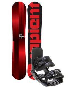 Sapient Fader Snowboard w/ Salomon Team Bindings