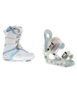 MThree Cosmo Snowboard Boots with Ride LXH Snowboard Bindings