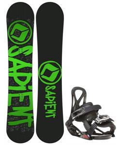 Sapient Yeti Snowboard w/ Sapient Prodigy Bindings