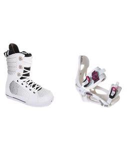 Burton Tryst Snowboard Boots w/ LTD LT250 Bindings