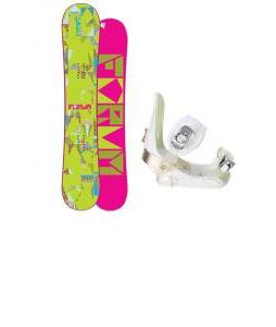 Forum Craft Snowboard w/ Morrow Lotus Bindings