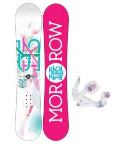 Morrow Sky Snowboard w/ K2 Kat Bindings