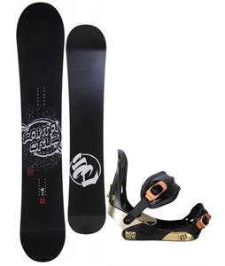 Santa Cruz All Star Vato Dato Snowboard w/ Morrow Invasion Bindings