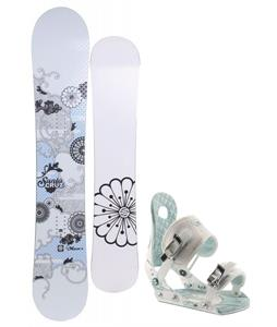 Santa Cruz Muse Snowboard w/ Ride LXH Bindings