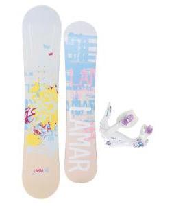 Lamar Foxie Snowboard w/ K2 Kat Bindings