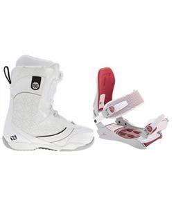 Morrow Kava BOA Snowboard Boots w/ Technine JV Bindings