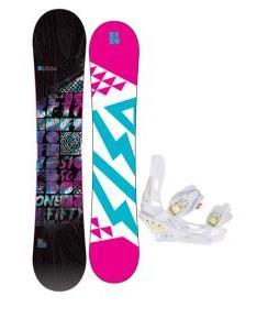 5150 Sienna Snowboard w/ Burton Lexa Bindings