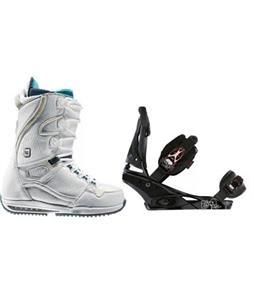 Burton Sapphire Snowboard Boots w/ Burton Escapade Bindings