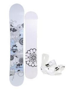 Santa Cruz Muse Snowboard w/ Sapient Zeta Bindings
