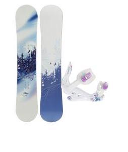M3 Free Snowboard w/ K2 Kat Bindings