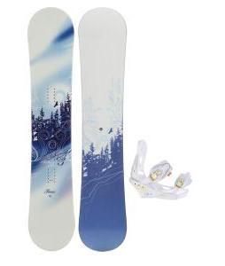 M3 Free Snowboard w/ Burton Lexa Bindings