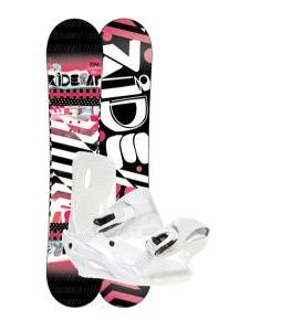Ride Rapture Snowboard w/ Sapient Zeta Bindings